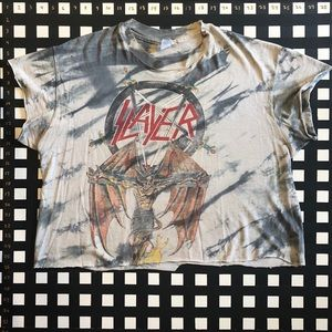 Vintage Tie-Dye SLAYER South of Heaven T-Shirt